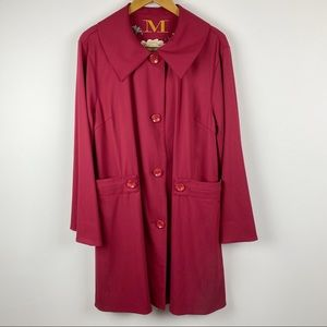 MYCRA PAC wool blend jacket trench coat